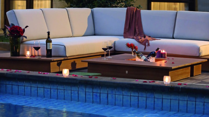 La Villa Lounge am Pool
