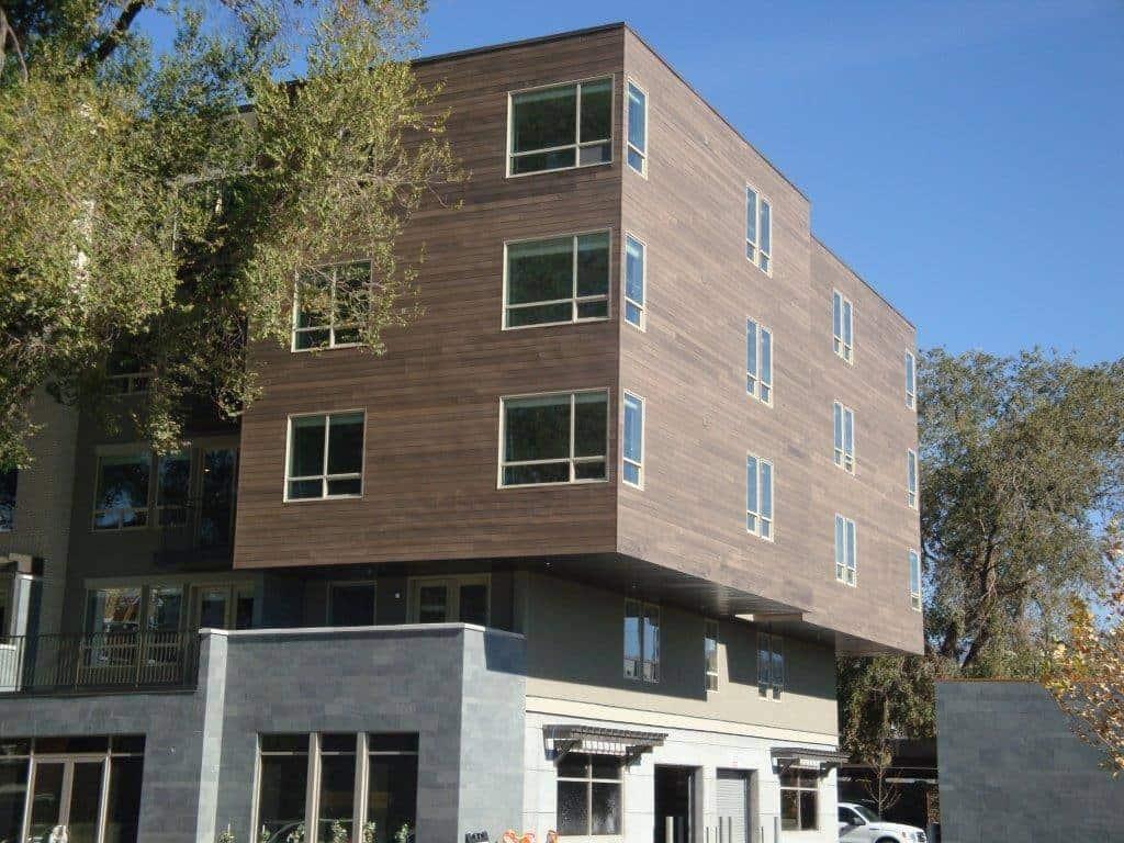 Appartementhaus Fassade