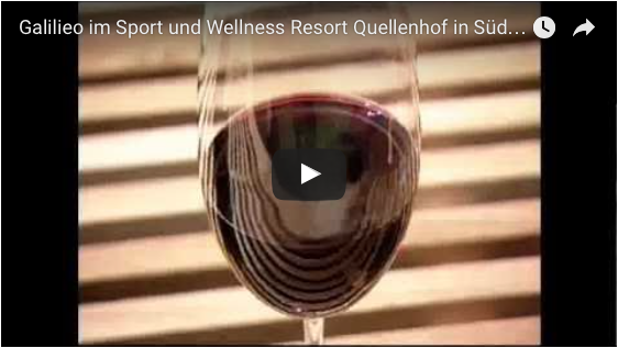 Galilieo im Sport und Wellness Resort Quellenhof in Südtirol