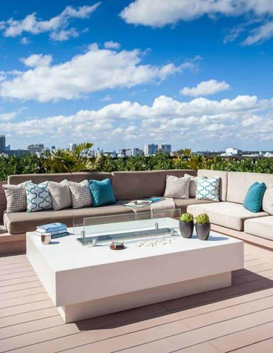 Miami Dachterrasse