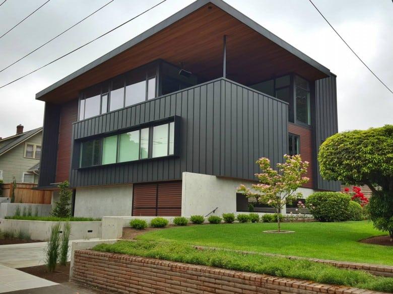 Decking und Fassade aus Resysta