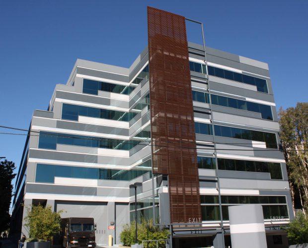 Bürohaus Sonnenschutz