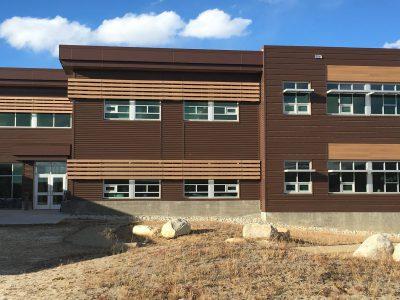 Lake County High School Facade