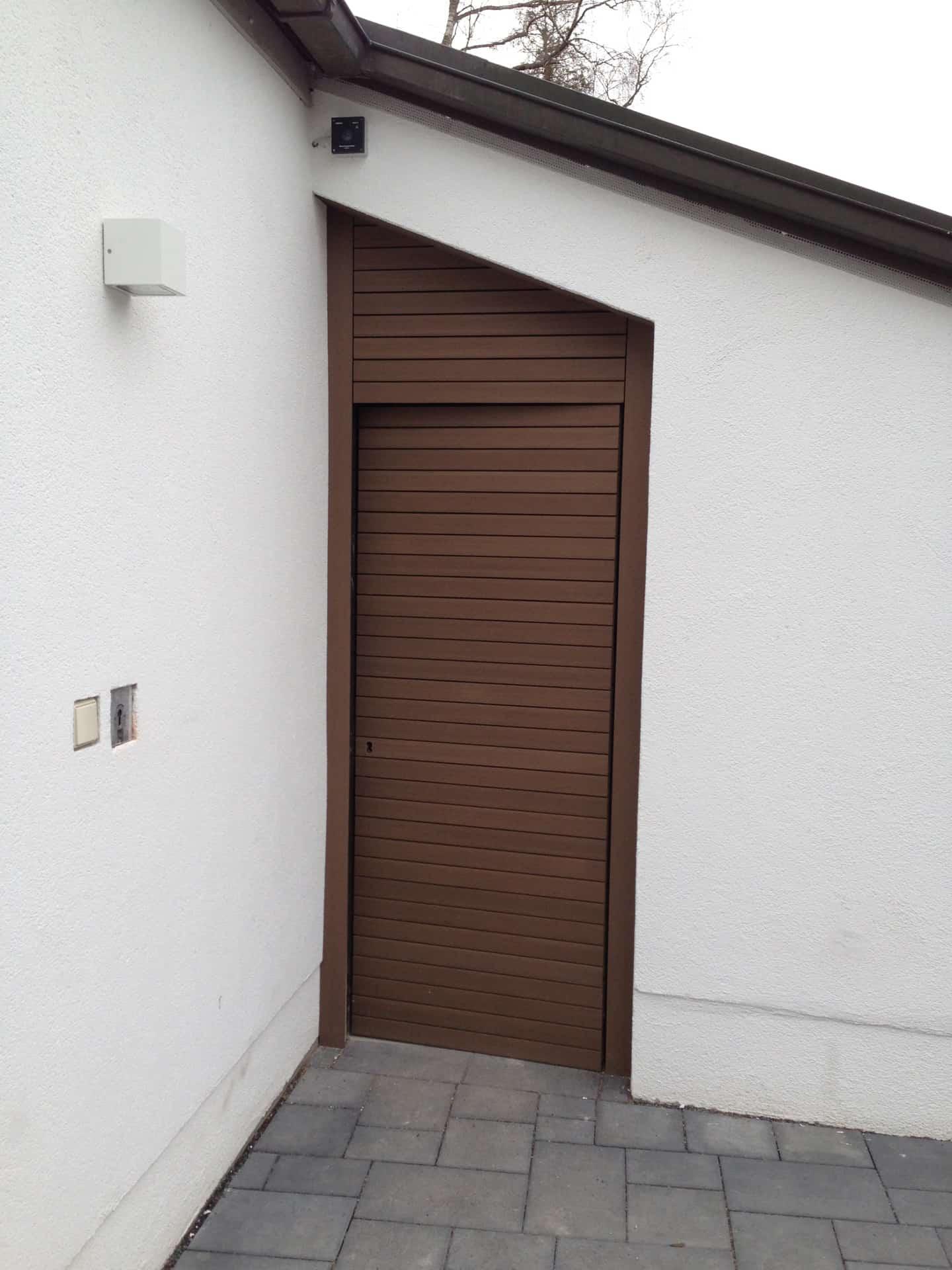 Garage Eingang