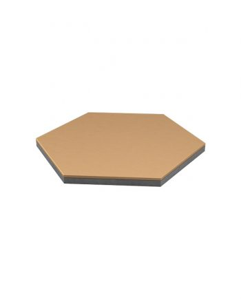Sechseckige Bodenbelagsplatte - hex